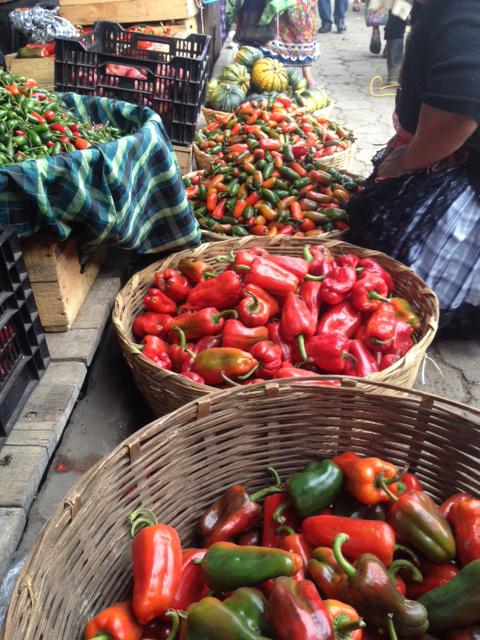 Antigua farmers' market.